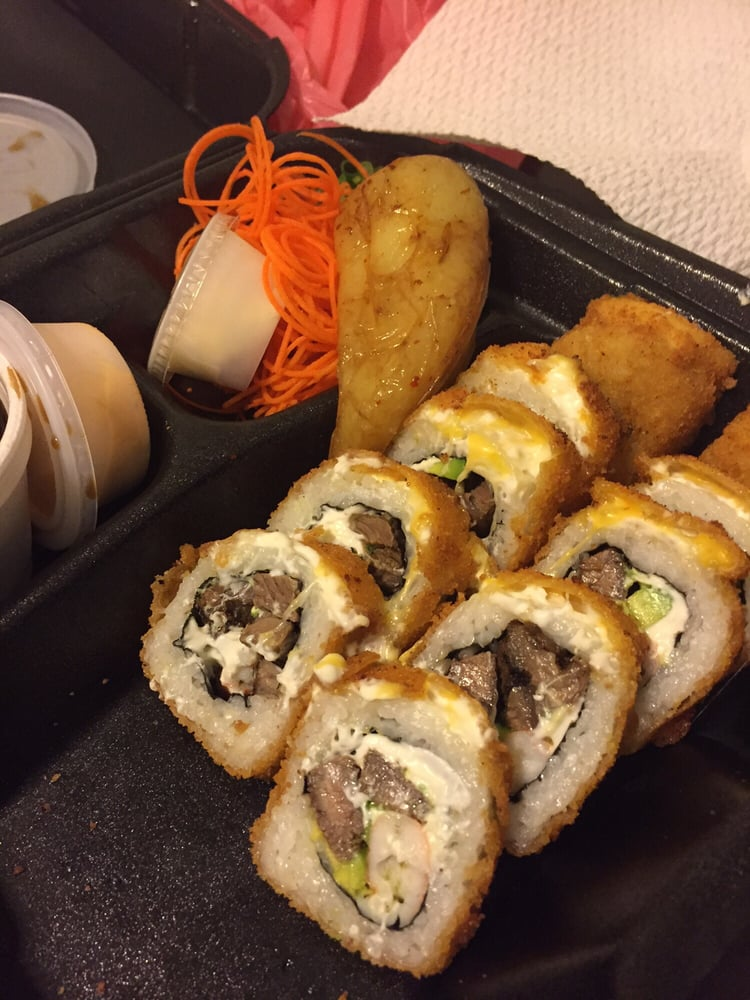 Carne Asada Sushi Rolls.