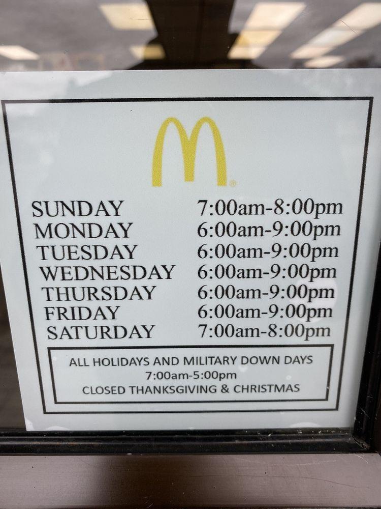 McDonald's: 223 W 4th St, Holloman Afb, NM