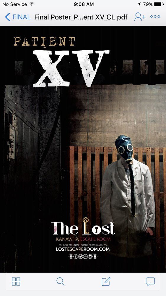 The LOST Escape Room: 314 Goff Mountain Rd, Cross Lanes, WV