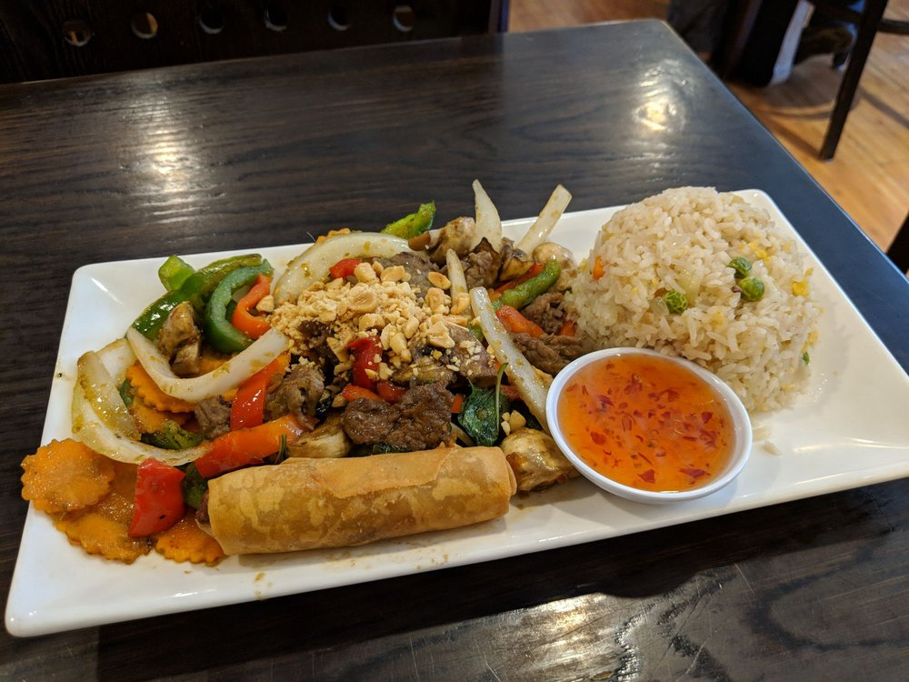 Saigon Kitchen: 526 W State St, Ithaca, NY