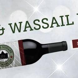 Downtown Wine & Wassail Walk logo