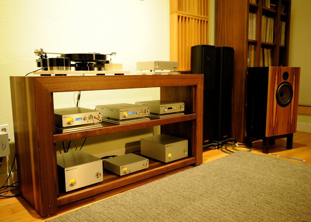Nagra Classic electronics with Brinkmann turntable for vinyl