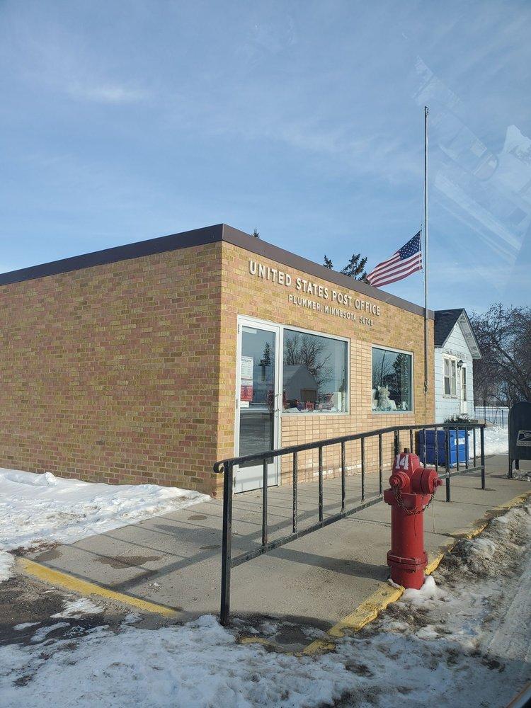 US Post Office: 210 Central Ave E, Plummer, MN
