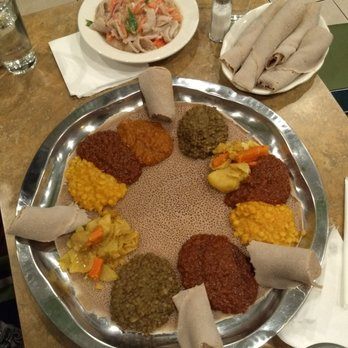 Photo Of Beteseb Restaurant Silver Spring Md United States Veggie Combo And