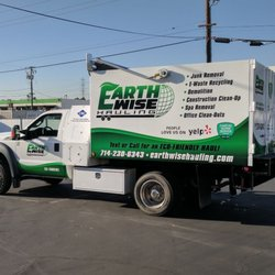 Photo Of EarthWise Hauling U0026 Junk Removal   Orange, CA, United States. Our