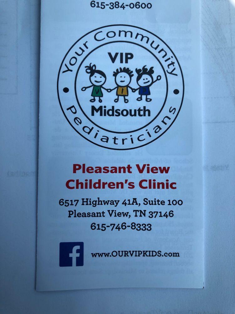 Pleasant View Children's Clinic: 6517 Hwy 41A, Pleasant View, TN