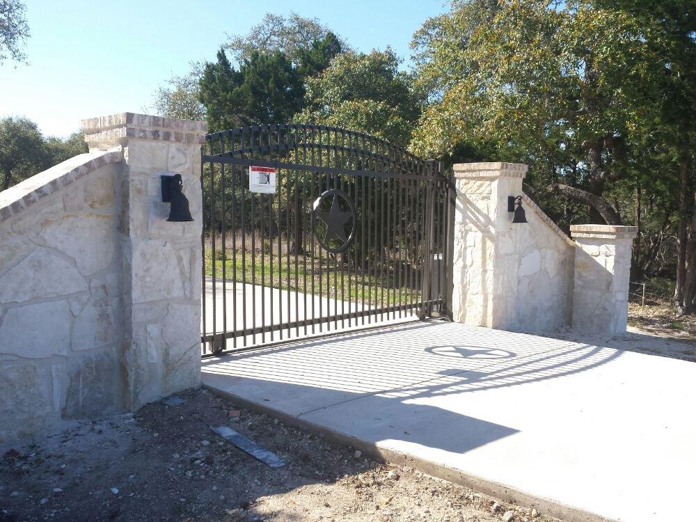 Custom Build Gate Columns And Gate Operator Yelp