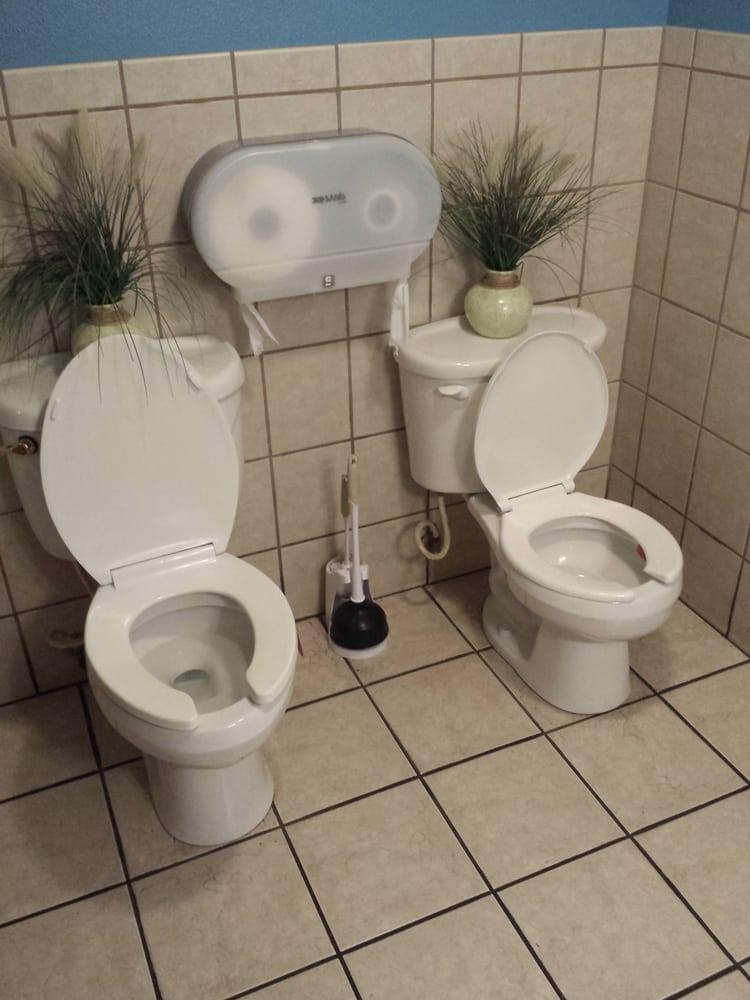Photo Of Washington Market Tavern New York Ny United States Two Toilets