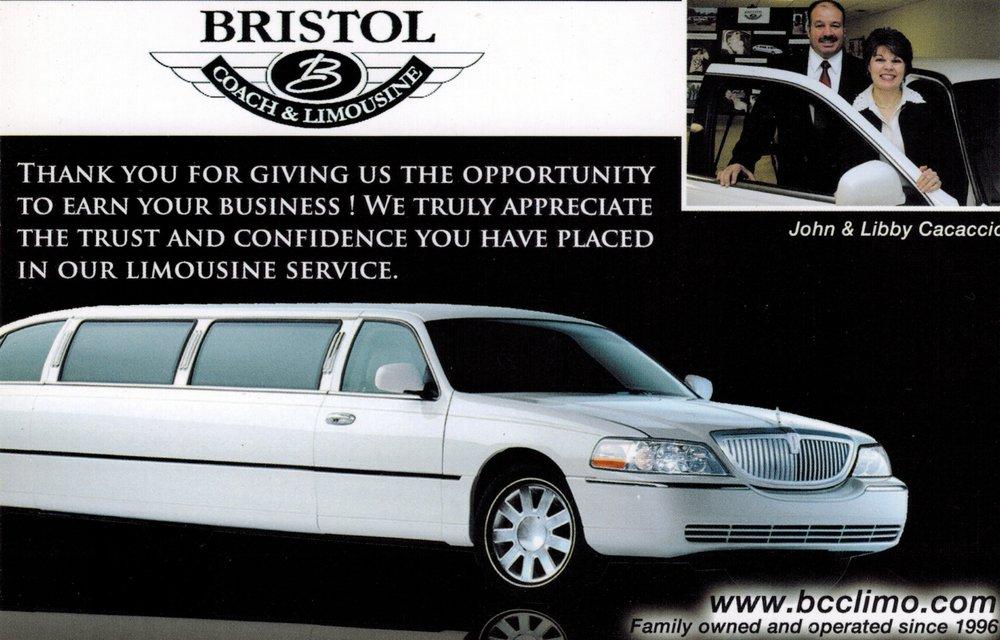 Bristol Coach & Limousine: 145 W Main St, Norton, MA