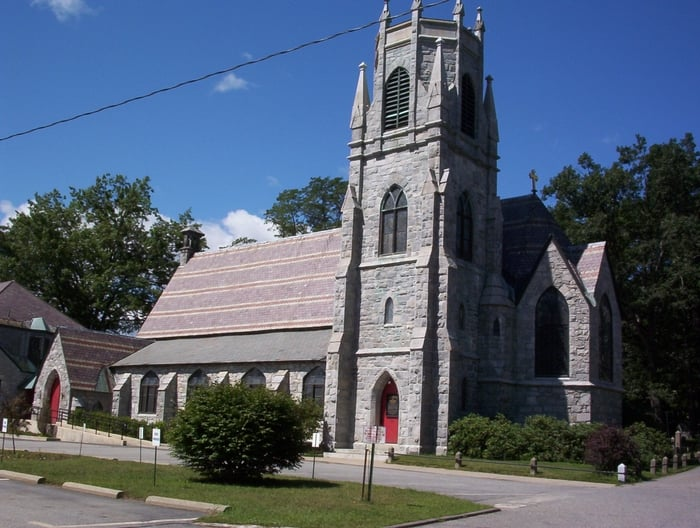 Immanuel Episcopal Church: 20 Church St, Bellows Falls, VT