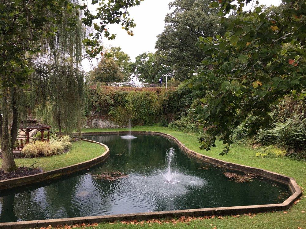 Sunken Gardens: 1125 West Park Dr, Huntington, IN