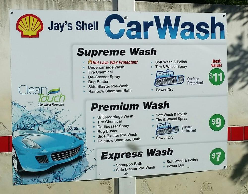 Car Wash Prices