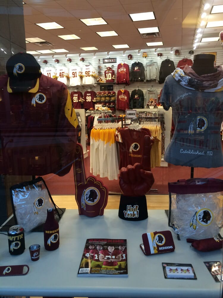 Washington Redskins Official Store: 21100 Dulles Town Cir, Dulles, VA