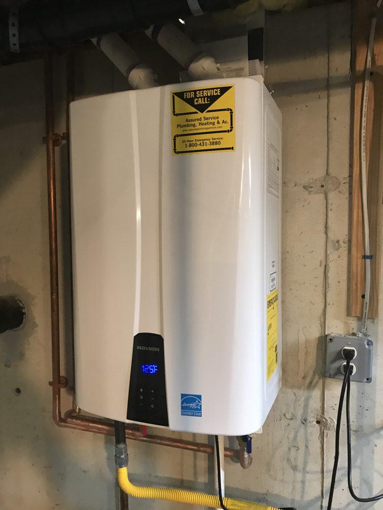 Assured Service Plumbing, Heating & AC: 183 Crawford St, Northborough, MA