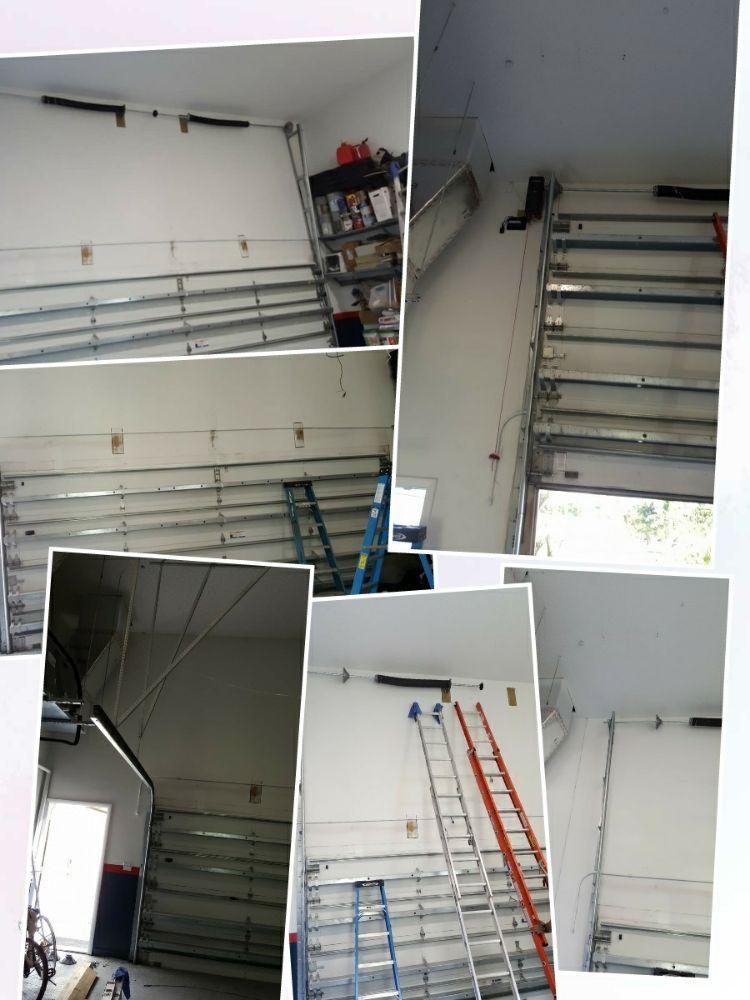 16 ft high lift garage door professional service best for 16 foot garage door strut
