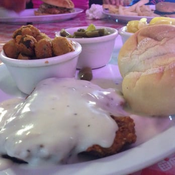 Photo Of Country Kitchen Kingston Ok United States Fried Steak