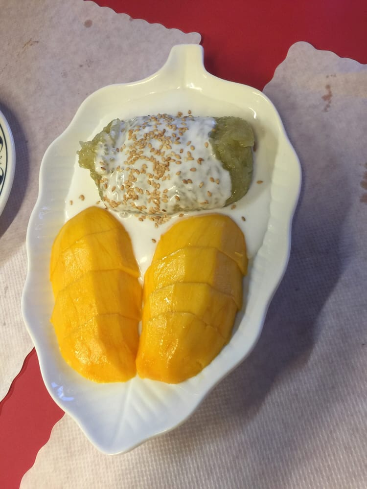 Beautiful yummy mango sticky rice yelp for 22 thai cuisine yelp