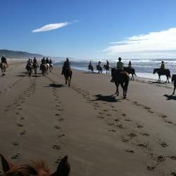 Photo Of Horseback Riding Als Oregon Beach Rides Seaside Or United States