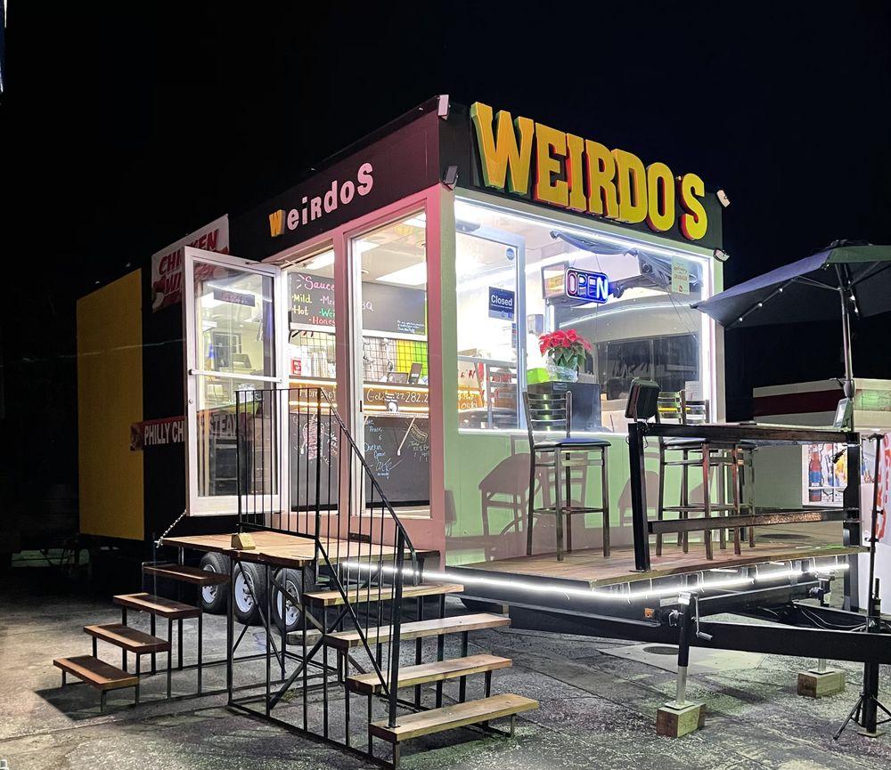Mr Weirdo's American Food
