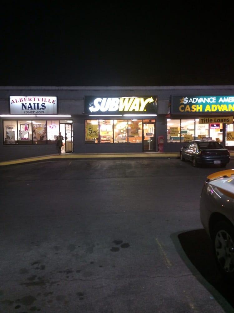 Subway: 7343 US Hwy 431, Albertville, AL