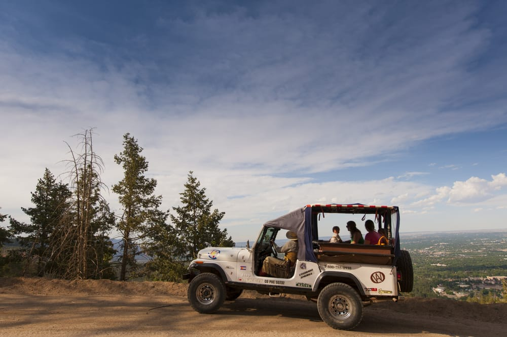 Garden Of The God And Foothills Jeep Tour On Gold Camp Rd