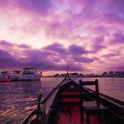 8pm Gondola Ride Photo Of Sunset Huntington Beach Ca United States