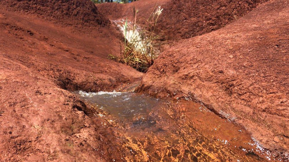 Red Dirt Waterfall: Waimea, HI