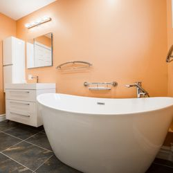 Photo Of Seattle Style Remodel Redmond Wa United States The Master Bathroom