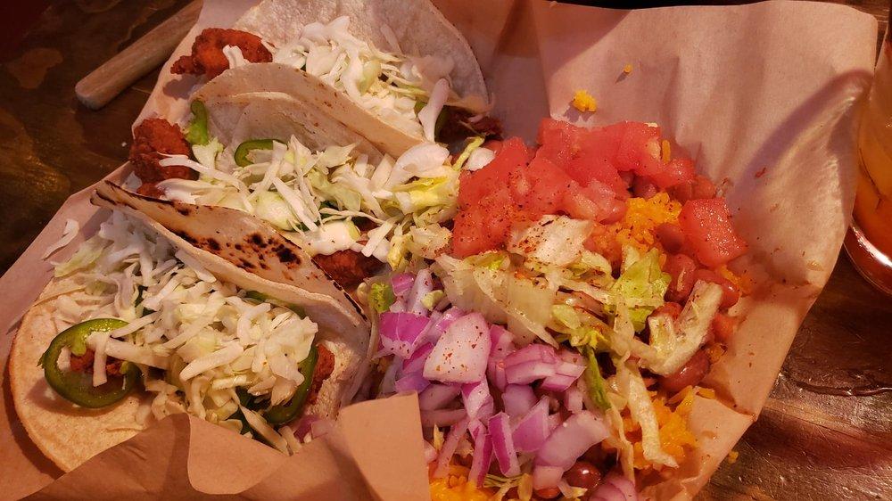 Food from El Diablo Loco Cantina & Tequila Bar