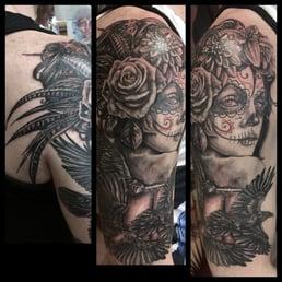 1b438b53eeb62 Photo of 1001 Troubles Tattoo - Warren, RI, United States. Michelle Carter