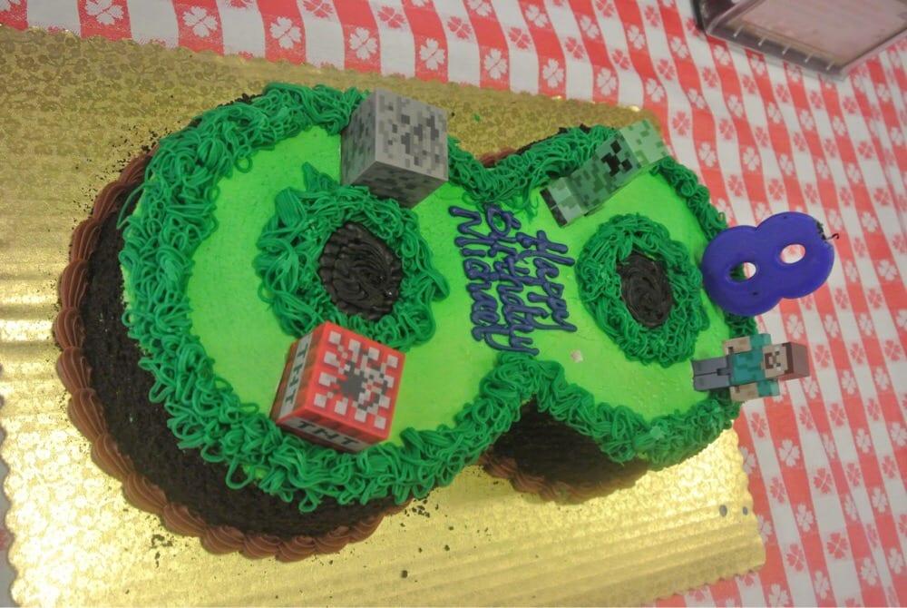 Minecraft Cake Yelp