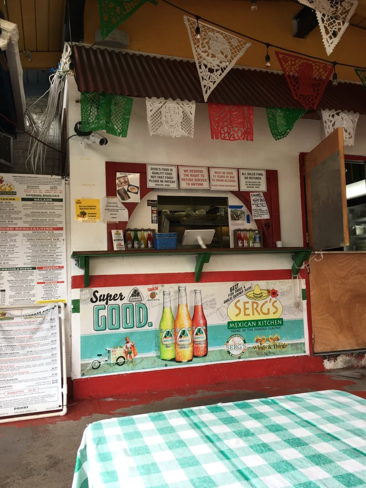 Serg S Mexican Kitchen Honolulu Hi