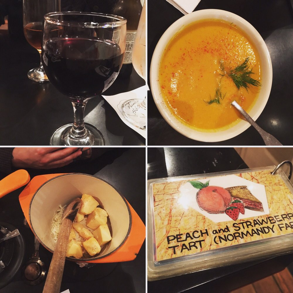 Mmmm Fondue Night With Wine And Carrot Curry Soup Yelp