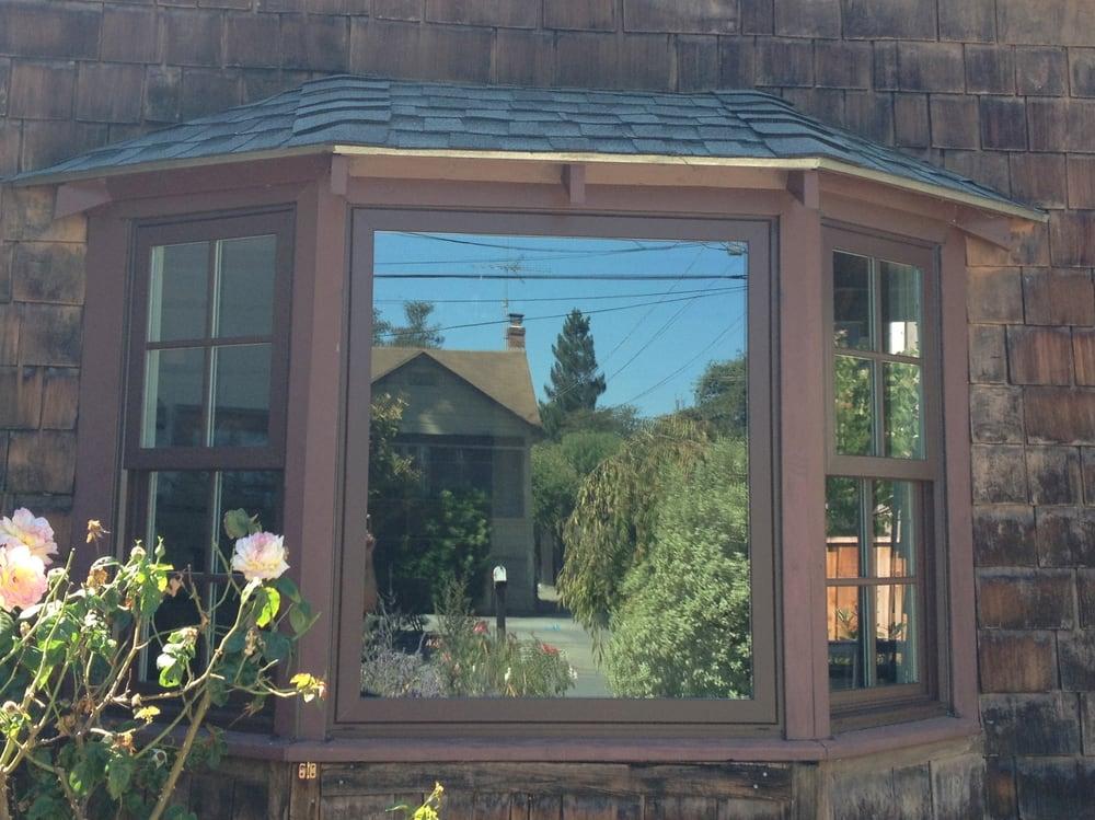 milgard 39 s tuscany chocolate exterior window installed in menlo park california yelp. Black Bedroom Furniture Sets. Home Design Ideas