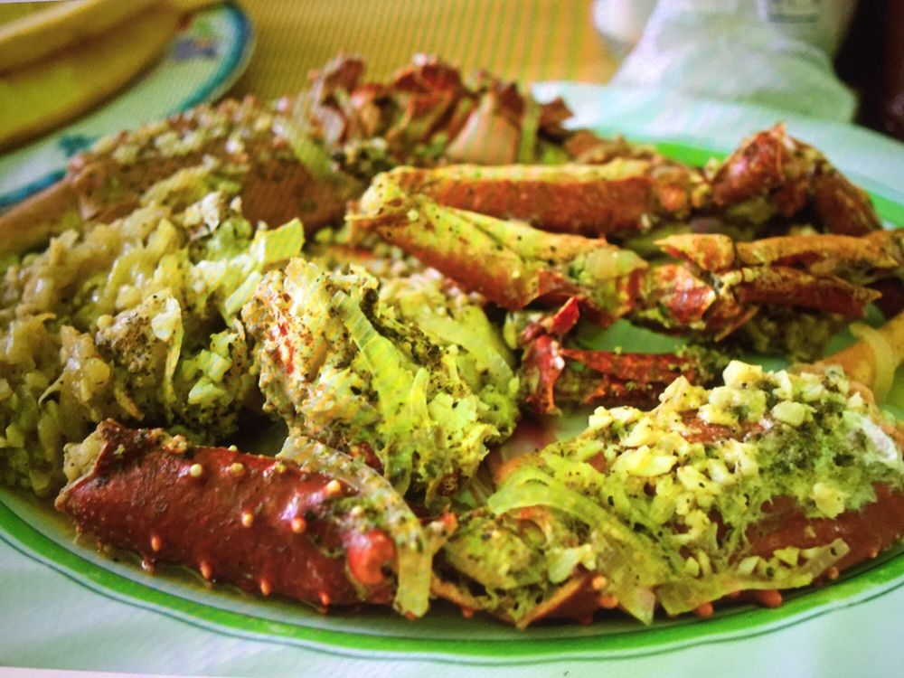 Bertie's Criolle Cuisine: Coxen Hole 1, Honduras, PR