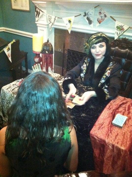Valentina Burton -  the Fortune Teller of Dallas