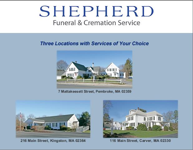 Shepherd Funeral Homes: 216 Main St, Kingston, MA