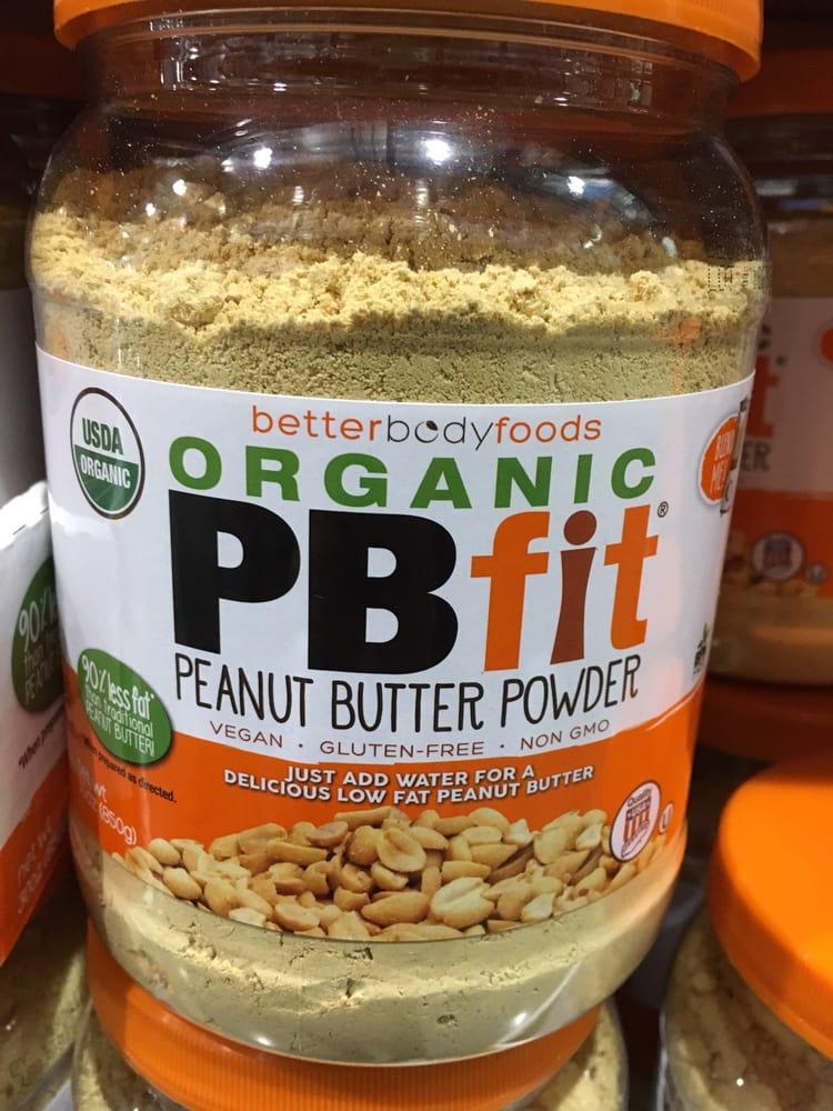 Organic peanut butter powder interesting - Yelp