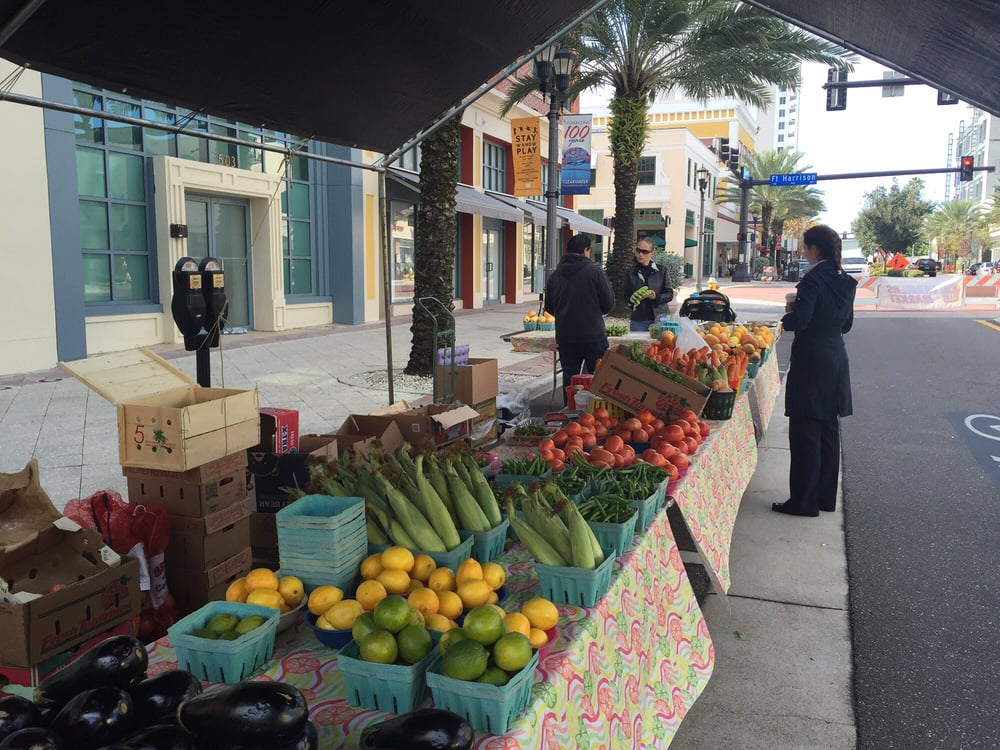 Farmer's Market Downtown Clearwater: 527-531 Cleveland St, Clearwater, FL