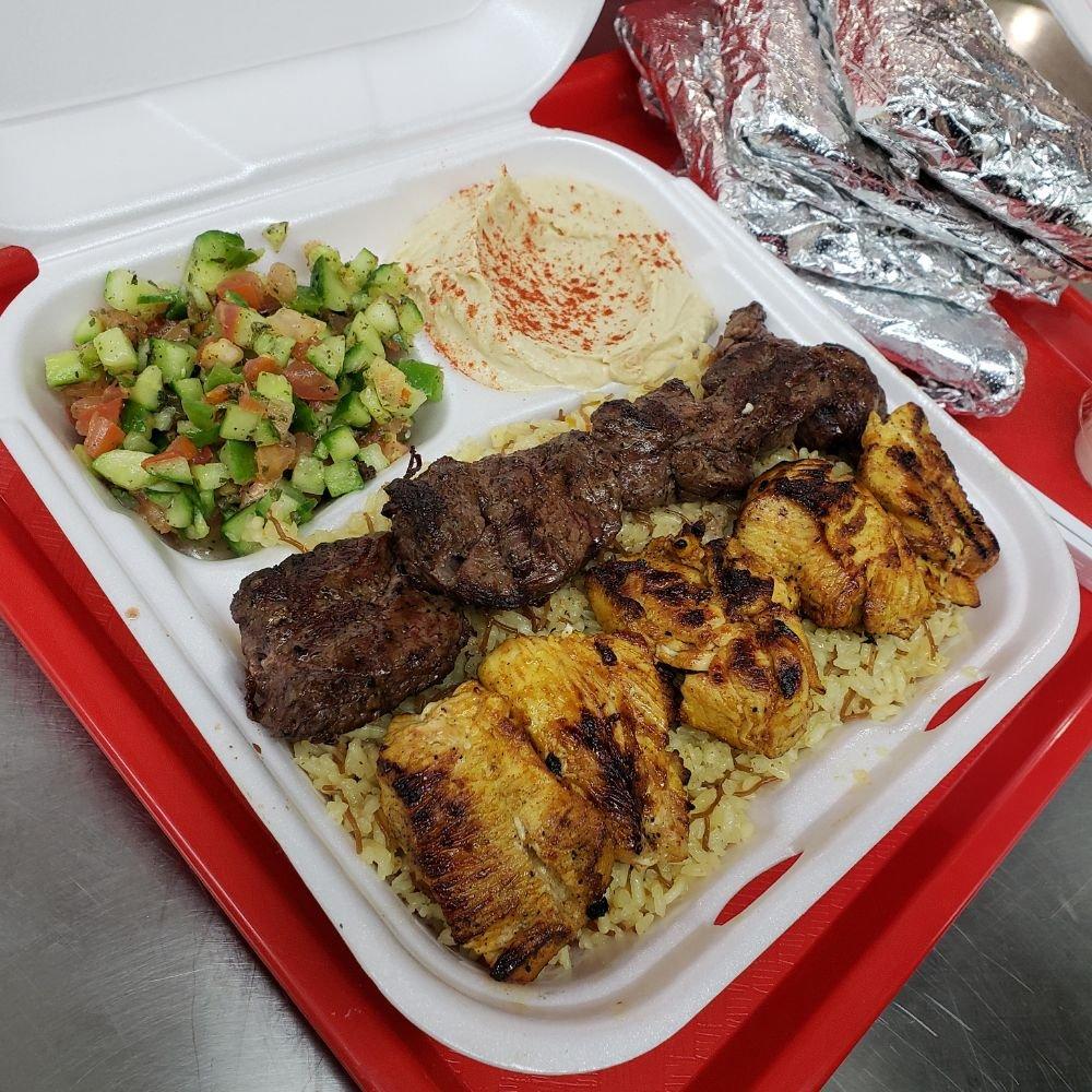 Habibi's Mediterranean Grill: 1201 E Main St, Barstow, CA