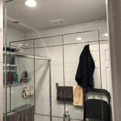 Custom Bathroom Vanities Staten Island artisan glass and mirror - 94 photos - glass & mirrors - great