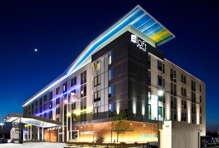 Aloft Dulles Airport North: 22390 Flagstaff Plz, Ashburn, VA