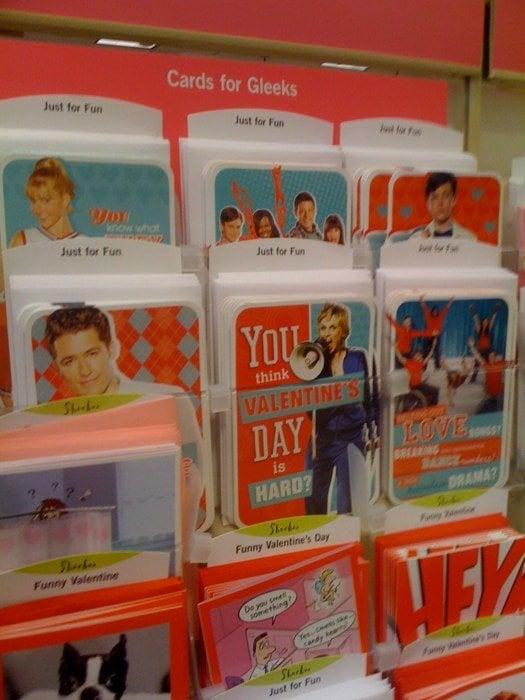 2011 Vday Glee Cards Yelp