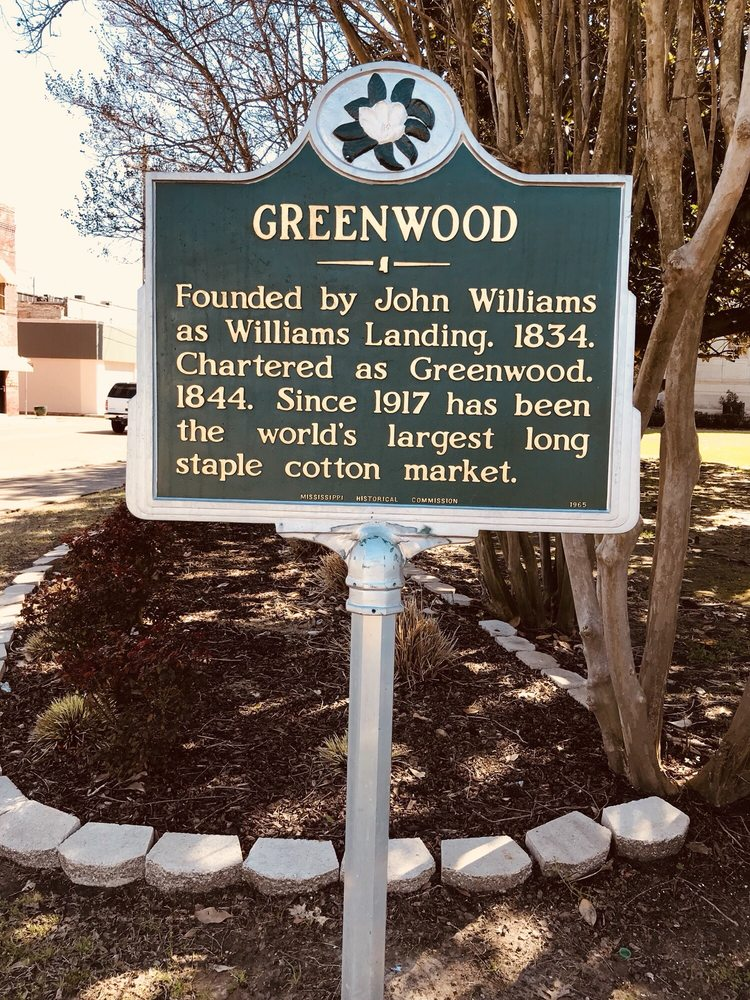 Greenwood Courthouse: River Rd, Greenwood, MS