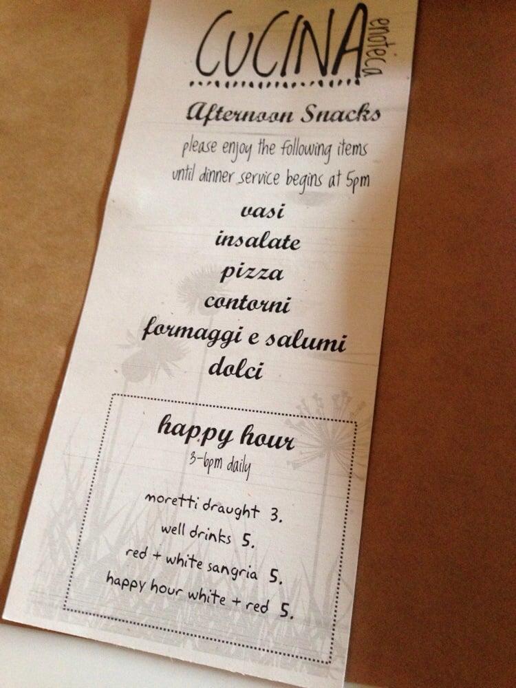 Happy hour menu yelp for Z cucina menu