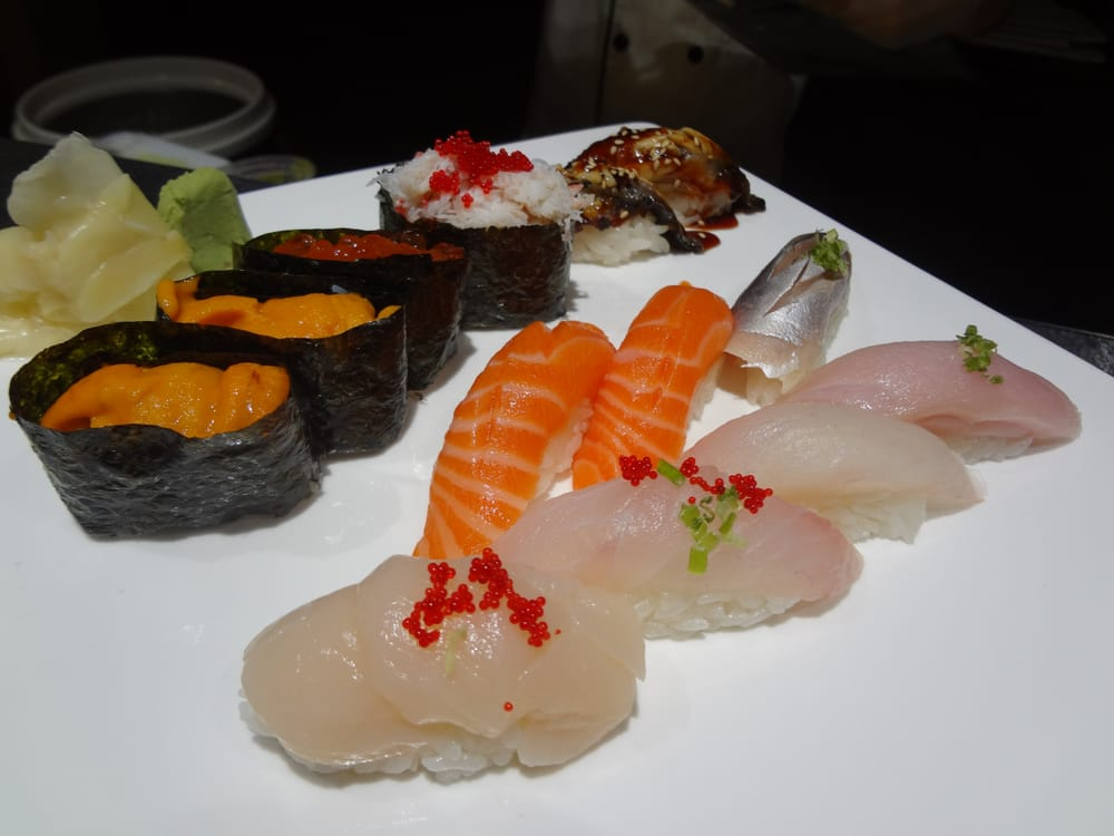 Top uni maine snow crab eel middle salmon mackerel bottom 4 photos for sumo japanese sushi hibachi sciox Gallery