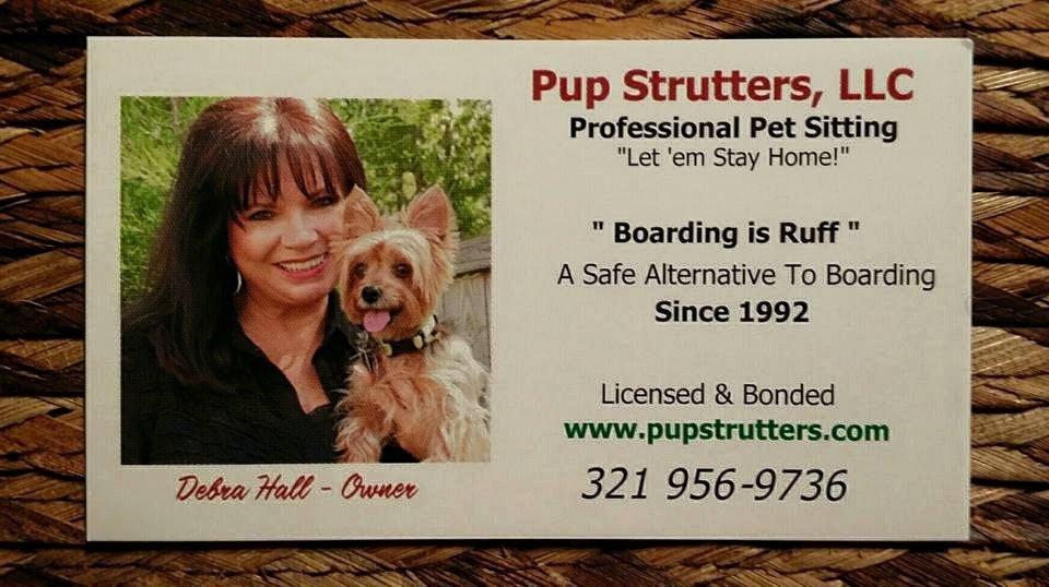 Pup Strutters Pet Sitting Services: Melbourne Beach, FL
