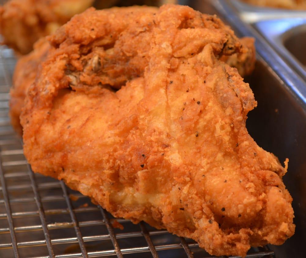 A Crispy Pressure Fried Chicken Breast!