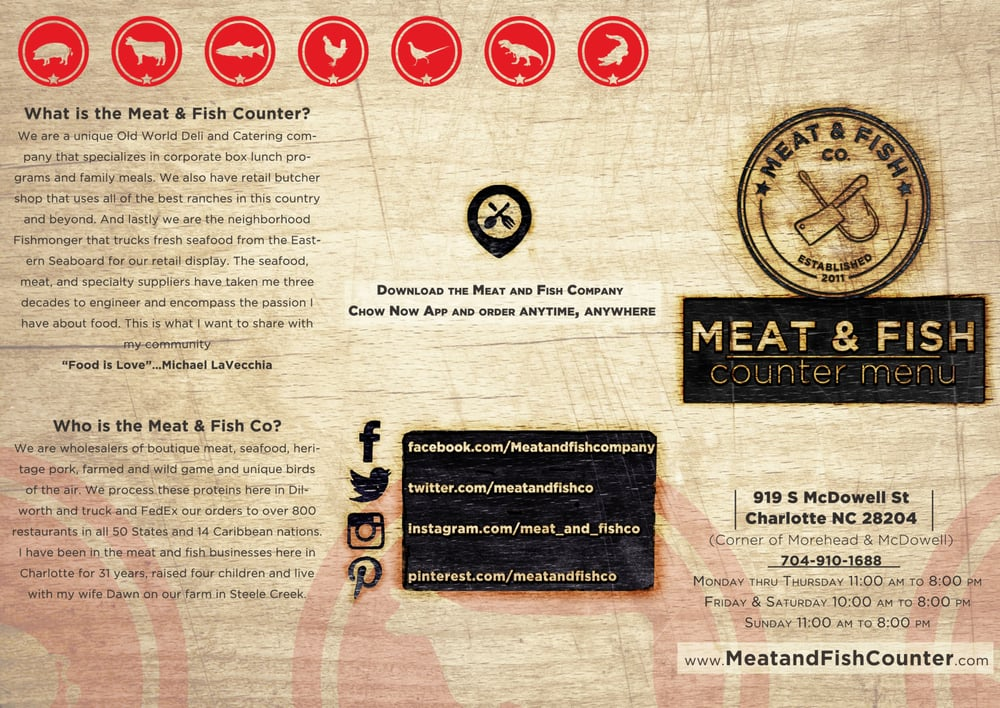 Meat & Fish Company - CLOSED - Order Online - 68 Photos & 18