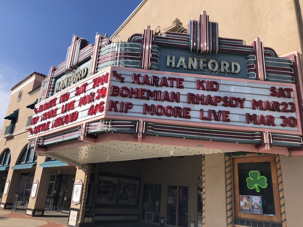 The Hanford Fox Theatre